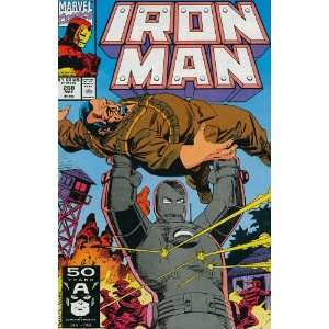 Iron Man (1st Series) #268: John Byrne, Paul Ryan: Books