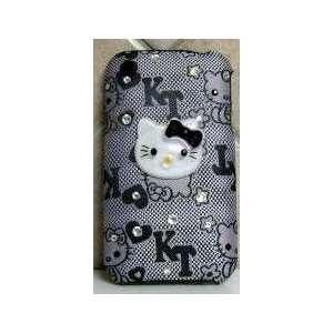 HELLO KITTY IPHONE CASE IPHONE 3G CASE W/ SWAROVSKI