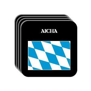 Bavaria (Bayern)   AICHA Set of 4 Mini Mousepad Coasters