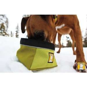 Ruff Wear 2050 315 Quencher Portable Outdoor Dog Water Bowl in Lichen
