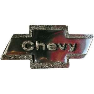 CHEVROLET LOGO Brushed Steel Belt Buckle Chevy cross