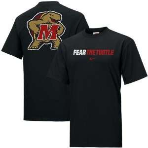 Maryland Terrapins Black Rush the Field T shirt