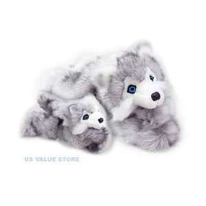 Mama and Baby Husky: Toys & Games
