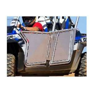 Armor Polaris RZR 4 Doors WITHOUT Cutouts. Brushed Aluminum. 101209