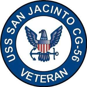 US Navy USS San Jacinto CG 56 Ship Veteran Decal Sticker 3