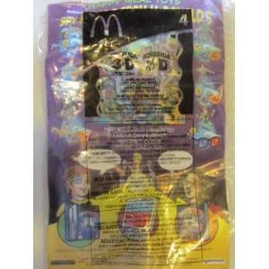 Happy Meal Toy and Comic Book Spy Kids 3 D Game Over (2003