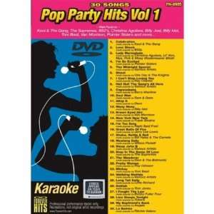 Forever Hits 4905 Pop Party Hits Vol 1 (30 Song DVD