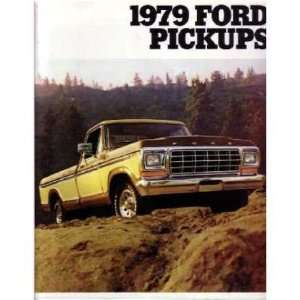 1979 FORD F100 F150 F250 F350 TRUCK Sales Brochure
