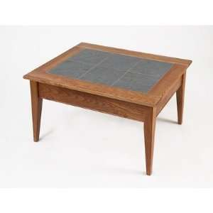 Shaker Slate Top Coffee Table (Golden Oak) (18H x 33.25W