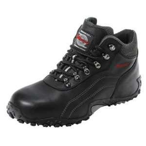 Lightening Leather Mens High Top Shoes (Size 12D, Black) Automotive