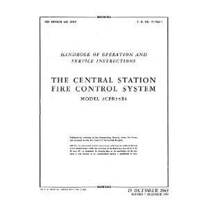 : Boeing B 29 Aircraft Central Fire Control System Manual: AAF: Books