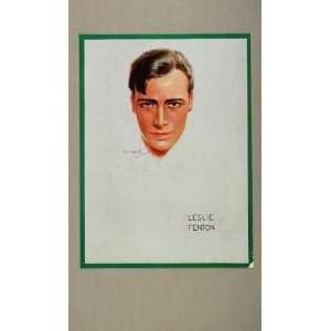 Fenton Usabal Silent Film Star Print   Original Print: Home & Kitchen