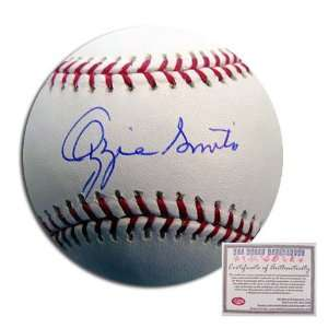 Ozzie Smith St Louis Cardinals MLB Hand Signed Rawlings