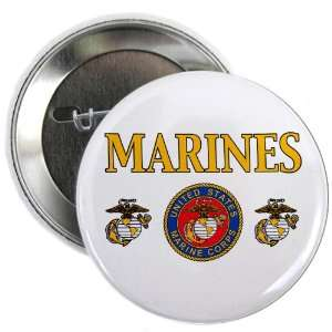 2.25 Button Marines United States Marine Corps Seal