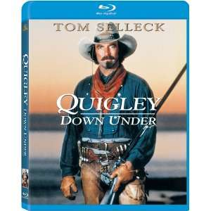 Quigley Down Under [Blu ray]: Alan Rickman, Tom Selleck