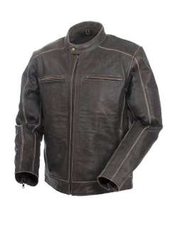 OF HARLEY MENS PREMIUM LEATHER JACKET, MOSSI NOMAD 20 153 NEW