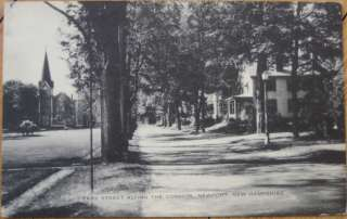 1930 PC Park Street & Common Newport, New Hampshire NH