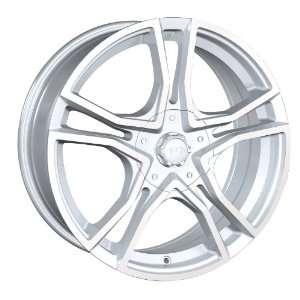 17x7 Akita AK 48 (485) (Hyper Silver w/ Machined Face) Wheels/Rims