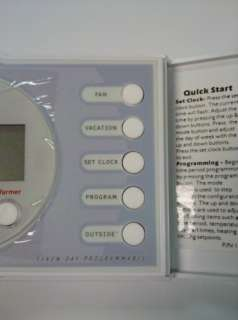 ICP TSTAT 0710 Heat/Cool 7 Day Programmable Thermostat