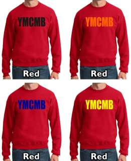 new YMCMB SWEATSHIRT young money lil wayne weezy crewneck sweater t
