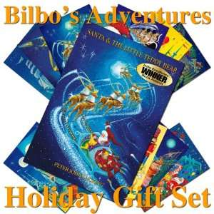 Adventures Holiday Gift Set SANTA AND THE LITTLE TEDDY BEAR the 2011