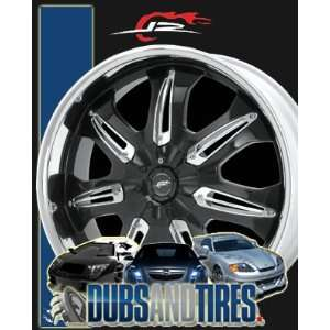 22 Inch 22x8.5 DALE EARNHARDT JR wheels HUSTLER Gloss