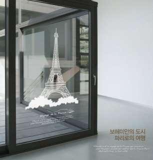 PARIS EIFFEL TOWER Decor Wall Paper Sticker Decal 059