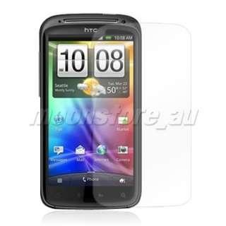 SOFT TPU GEL CASE COVER HTC SENSATION 4G G14 BLUE