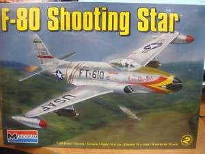 80 SHOOTING STAR 1/48 REVELL MODEL KIT 855311 NEW