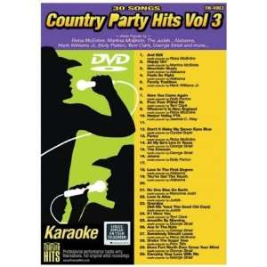 Forever Hits 4903 Country Party Hits Vol 3 (30 Song DVD