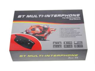 BT interphone bluetooth motorcycle helmet intercom