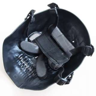 Airsoft Army Paintball BB Gun Death Ghost Face Game Mask Black