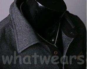 Fashion Mens Slim Simple Design Polo T Shirt Sweatshirt 3Colors Black