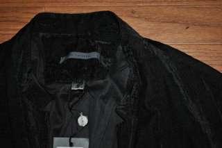 1595 JOHN VARVATOS BLACK VELVET BLAZER SPORT COAT 52R