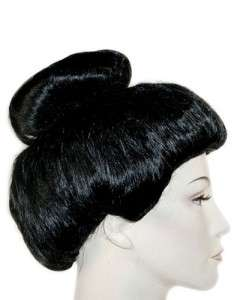 Super Deluxe Japanese Geisha Girl Costume Wig