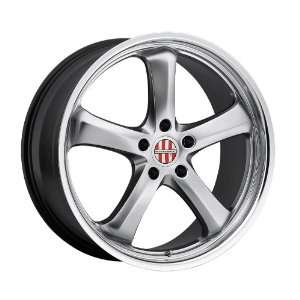 18x11 Victor Turismo (Hyper Silver w/ Mirror Lip) Wheels