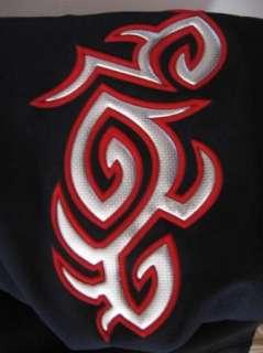 NEW Retro Black Red Silver Tattoo BAD BOY Tribal Rebel BIKER Bowling