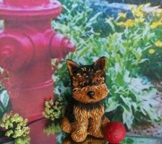 OOAK Miniature Yorkie Terrier Puppy Sculpture Yorkshire dog baby doll