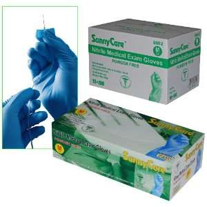Sunnycare #8602 Nitrile Medical Exam Gloves Powder Free Size Medium