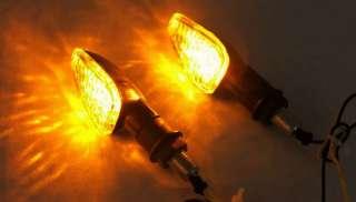 Stalk Universal Motorcycle LED Turn Signals Light Indicator Blinker