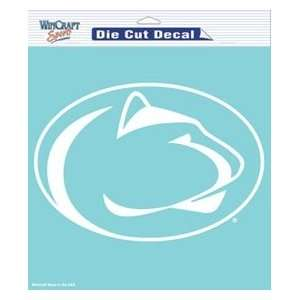 Penn State Nittany Lions 8x8 Die Cut Decal