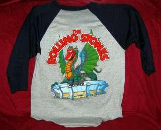 ROLLING STONES 1981 Concert Tour Jersey Shirt JFK Stadium Philadelphia