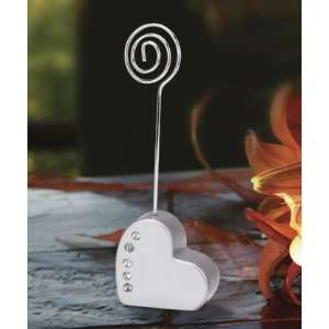 Wedding Favors Heart shaped place card holder Health