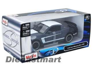 MAISTO 124 2011 FORD MUSTANG BOSS 302 NEW DIECAST MODEL CAR NAVY BLUE