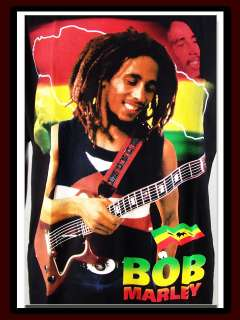 Bob Marley Raggae Ganja Weed Jamaica smoke Shirt L