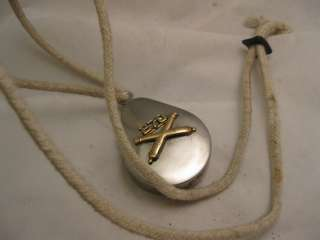 MILITARY POCKET WATCH & AWESOME FRENCH MILITARY PROTECTIVE CASE