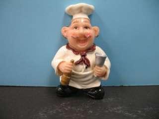 Pc Italian fat chef magnets BISTRO Kitchen decor NEW bar home 3D set