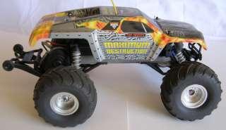 Jam Maximum Destruction Truck XL5 Waterproof Cooling Fan RTR