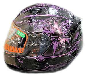 HARLEY DAVIDSON WOMENS STEEL HEART SKYLINE FULL FACE HELMET #97340