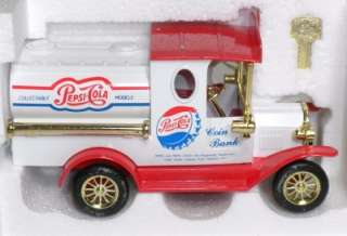 PC02 PEPSI COLA 100 YEAR CELEBRATION TRUCK BANK NIB